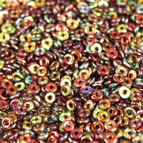 Magic Wine 2x4mm - Beads Gone Wild