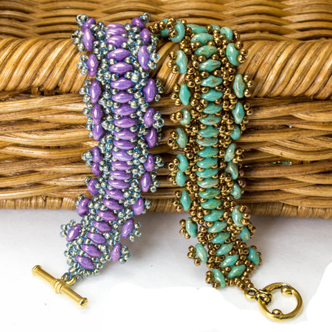 Lacey Days Bracelet Bead Weaving Kit - Beads Gone Wild