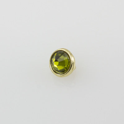 SWAROVSKI Olivine w/Gold Tone 25pcs 3mm - Beads Gone Wild