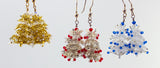 Christmas Tree Earring Bead Weaving Kit - Beads Gone Wild  - 2