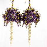 Persian Bells Earrings Bead Weaving Kit - Beads Gone Wild  - 2