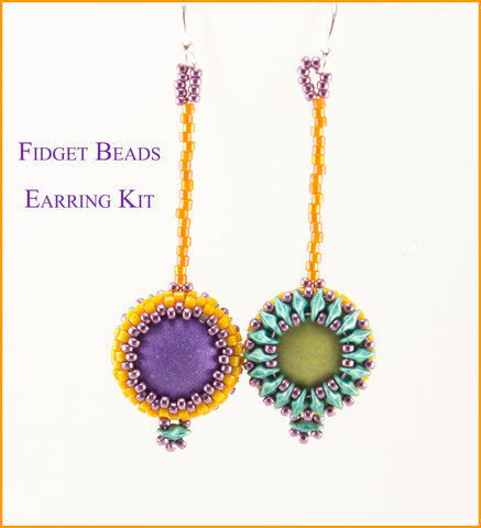 Fidget Bead Earring Bead Weaving Kit