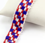 Geometrical Band Beadweaving Bracelet Kit