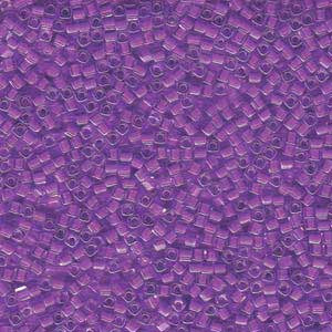 1.8mm Miyuki Cube Orchid L/Crystal SB18-222 approx. 12grams - Beads Gone Wild