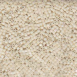 1.8mm Miyuki Cube Cream Ceylon SB18-421 approx. 12grams - Beads Gone Wild