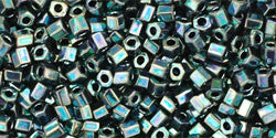 11/o Hex Seed Bead Metallic Moss - Beads Gone Wild