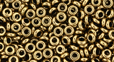 8/o Frosted Bronze Toho Demi Round Bead - Beads Gone Wild