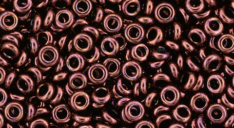 8/o Dark Bronze Toho Demi Round Bead - Beads Gone Wild