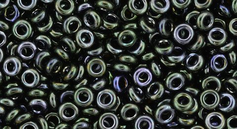 8/o Metallic Moss Demi Round Bead - Beads Gone Wild