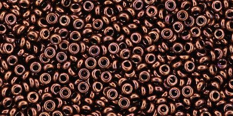 11/o Dark Bronze Toho Demi Round Bead - Beads Gone Wild