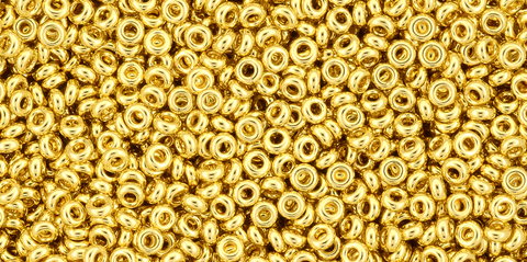 11/o Metallic Gold Toho Demi Round Bead - Beads Gone Wild