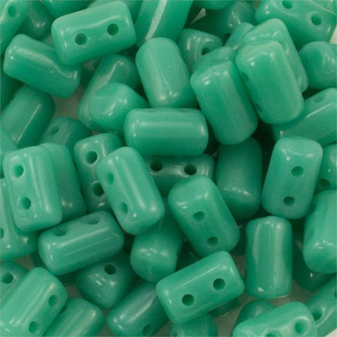 "Turquoise Green Rulla 3x5 3"" Tube - Beads Gone Wild"