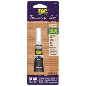 Zap Jewelry Super Glue 0.10oz(3grams) - Beads Gone Wild