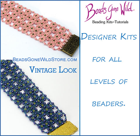 Vintage Look Bracelet Bead Weaving Kit