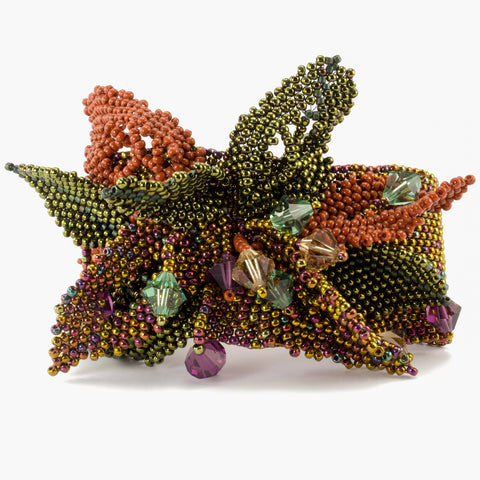 Autumn Splendor bead weaving Instructions Pattern