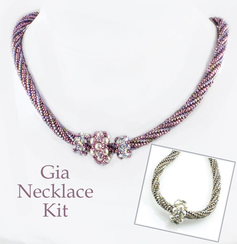Gia Bead Weaving Necklace Kit