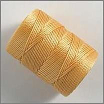 Apricot C-lon bead cord - Beads Gone Wild