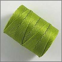 Chartreuse C-lon bead cord - Beads Gone Wild