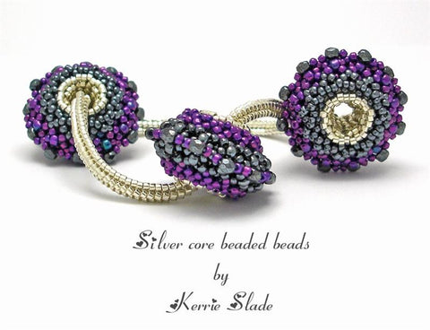 Core Beaded Beads Instructions  by Kerrie Slade - Beads Gone Wild