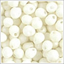 "dp-2021 Matte Op Cream 3.4mm 3"" Tube Approx. 13 grams - Beads Gone Wild"