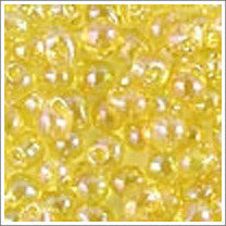 "dp-252 Transparent Yellow AB 3.4mm 3"" Tube Approx. 13 grams - Beads Gone Wild"