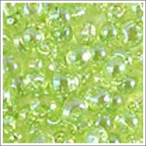"dp-258 Transparent Chartreuse AB 3.4mm 3"" Tube Approx. 13 grams - Beads Gone Wild"