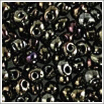 "dp-458 Metallic Brown Iris 3.4mm 3"" Tube Approx. 13 grams - Beads Gone Wild"