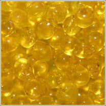 "dp-136 Transparent Yellow 3.4mm 3"" Tube Approx. 13 grams - Beads Gone Wild"