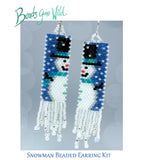 Snowman 2020 Beaded Earring Kit