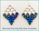 Mermaid Earring Bead Weaving Kit