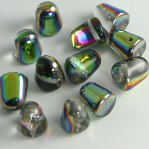 Gumdrops Vitrail 7x10mm 12/pkg - Beads Gone Wild