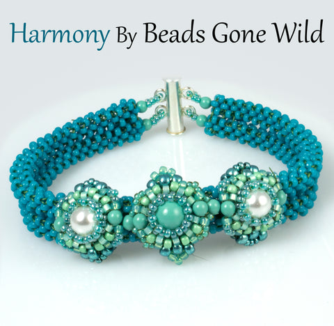 Harmony Bead Weaving Bracelet Kit