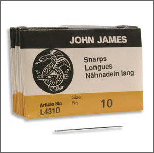 John James Sharps Needles - Beads Gone Wild  - 1