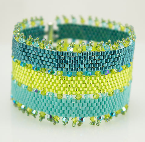 Key West Bracelet Bead Weaving Kit