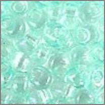 Tr Light Aqua Green AB 4mmApprox 9 grams - Beads Gone Wild