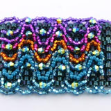 Mochaccino Bracelet Bead Weaving Kit - Beads Gone Wild  - 3