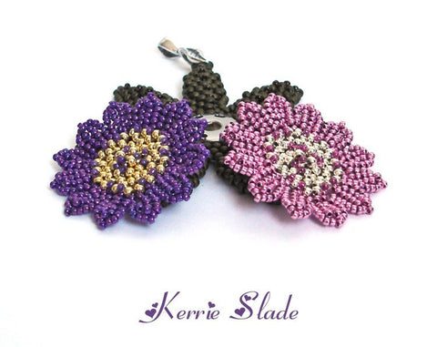 Popper Flowers Instructions  by Kerrie Slade - Beads Gone Wild