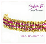 Ribbon Bracelet Bead Weaving Kit