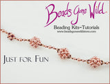 Just for Fun Beaded Necklace Weaving Kit