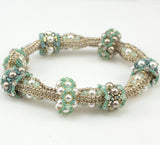 Slider Bead Bracelet Beadweaving Instructions