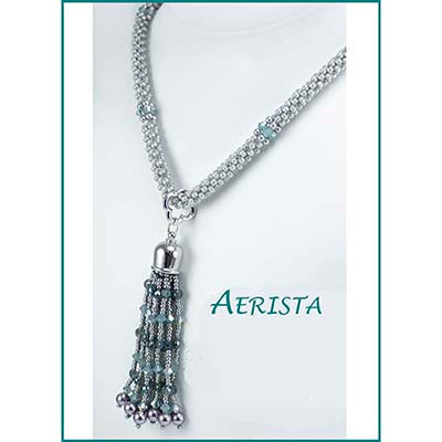 Aerista  - Tassel and Beaded Rope Bead Weaving Kit