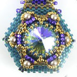 Jeweled Locket Triple Bead Weaving Kit - Beads Gone Wild  - 4