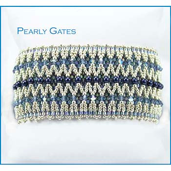 Pearly Gates Bracelet Bead Weaving Kit