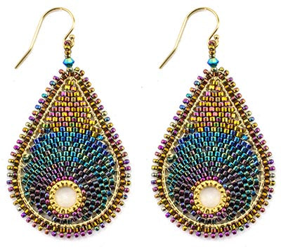 Enchanted Earrings Bead Weaving Kit