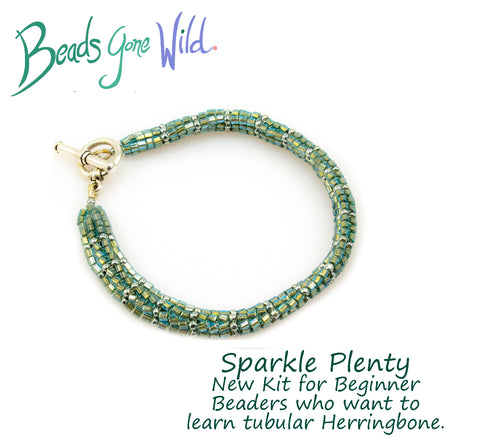 Sparkle Plenty Bead Weaving Bracelet Kit