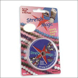 Stretch Magic Clear ..5mm 10 meters - Beads Gone Wild