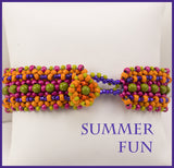 Summer Fun Bead Weaving Bracelet Kit