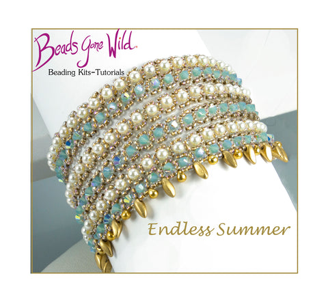 Endless Summer Bracelet Bead Weaving Kit