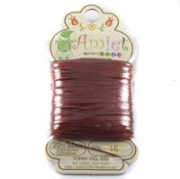 Amiet Polyester Terra Cotta 22yards (20m) .5mm - Beads Gone Wild