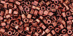 11/o Hex Seed Bead Dark Bronze - Beads Gone Wild
